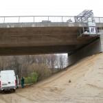 Odvodnění mostní konstrukce - Bílý kostel